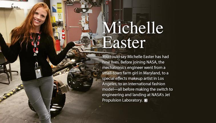 Michelle Easter, Mechatronics Engineer
